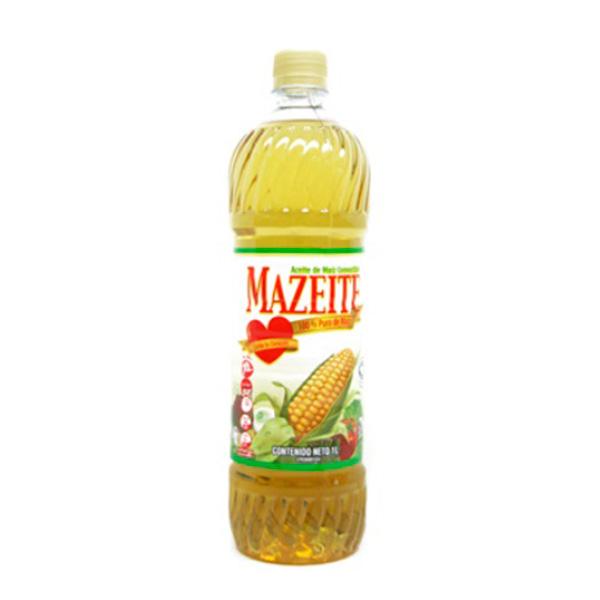 Aceite Mazeite Maiz Plastico 1Lt