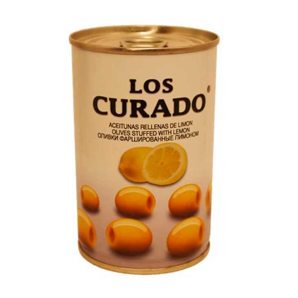 Aceituna Los Curados Rellena Con Limon 300Gr